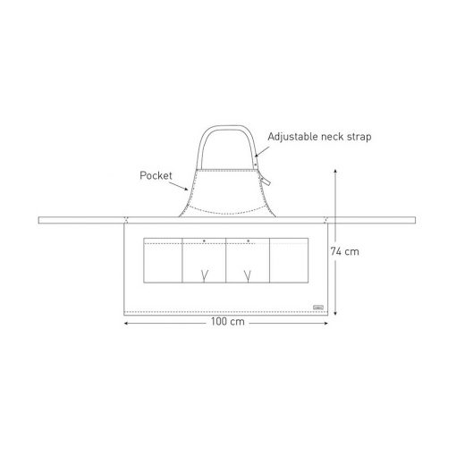 apron techical drawing