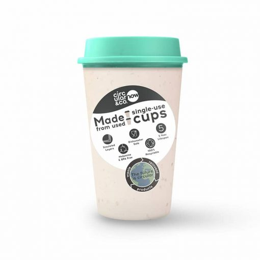 circular now cup in green