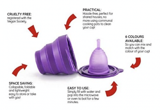 how to clean a menstrual cup