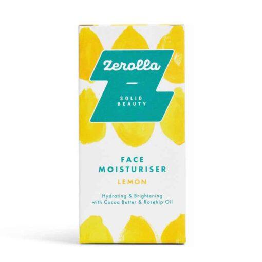 solid face moisturiser bar in packaging