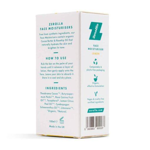 solid face moisturiser packaging