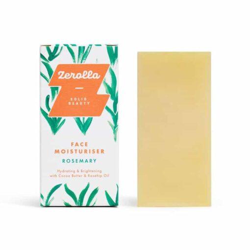 face moisturiser bar next to packaging