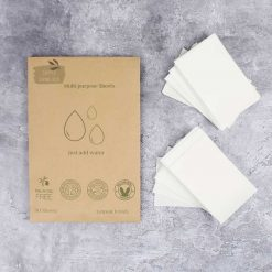 multipurpose cleaner wipes on work surface