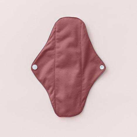 cloth sanitary pad aubergine