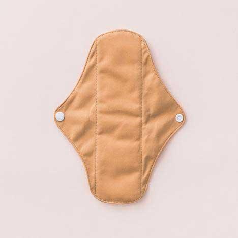 tan cloth sanitary pad