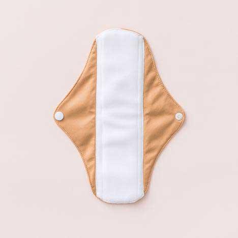 cloth sanitary pad in tan colour