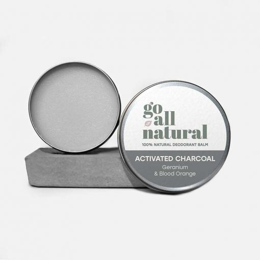 go all natural deodorant with activated charcoal