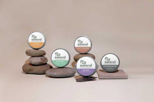 go all natural deodorant product range