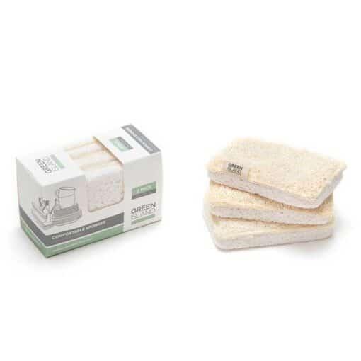compostable sponges 3 pack