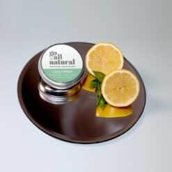go all natural deodorant lovely fresh on shiny tray