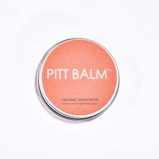 pitt balm natural deodorant with grapefruit