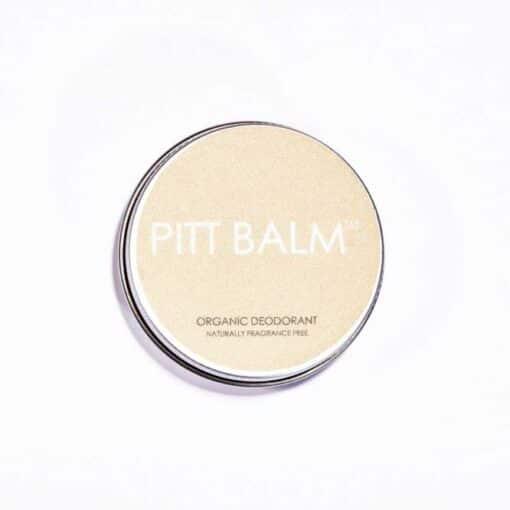 fragrance free pitt balm natural deodorant
