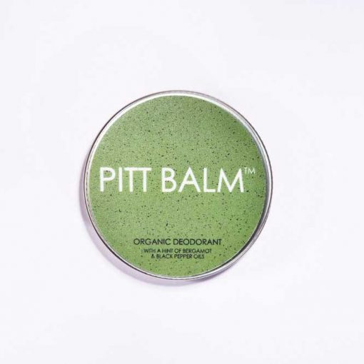 pitt balm natural deodorant with bergamot and black pepper