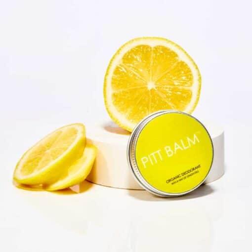 lemon pitt balm organic deodorant