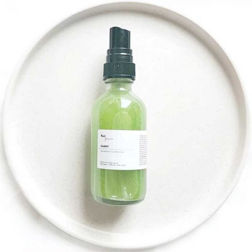 purple marble facial mist with cucumber and green tea