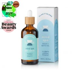 mind spa body and bath oil