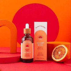 sunset bliss body and bath oil