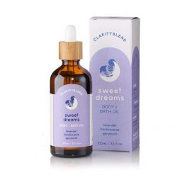 sweet dreams body and bath oil pack shot