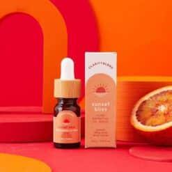 sunset bliss aromatherapy oil blend