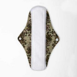 cloth sanitary night pad leopard print leopard print with wings