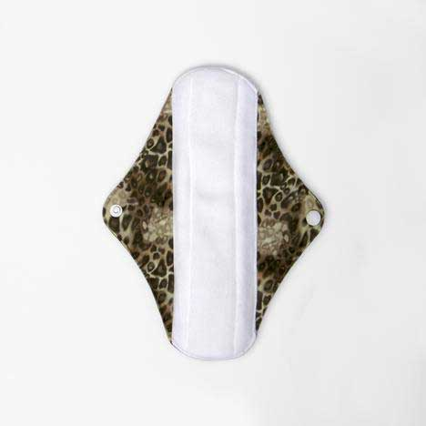 cloth sanitary pad leopard print with wings