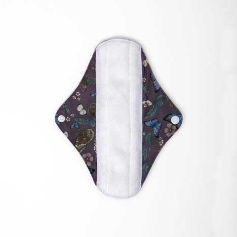 cloth sanitary pad with butterfly print