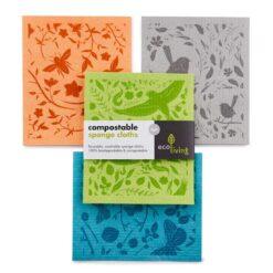 compostable sponge clothes
