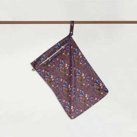 butterfly hanging nappy bag