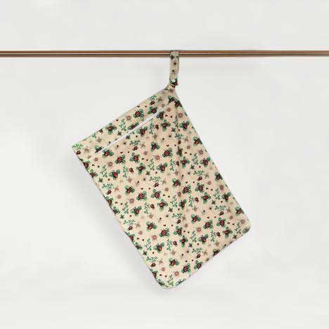 ladybugs hanging nappy bag