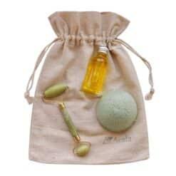 happy skin natural beauty gift set