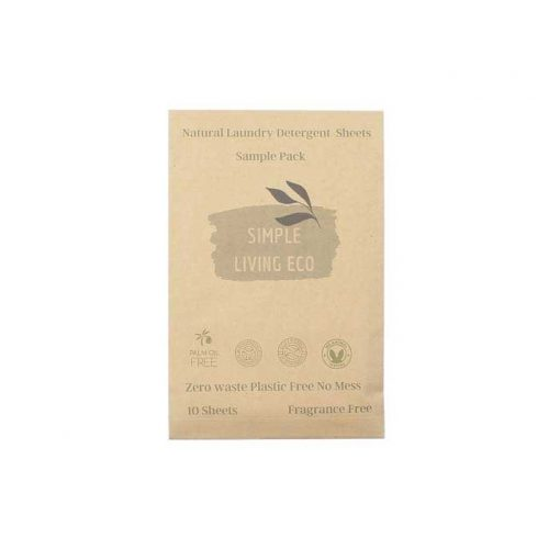 unscented laundry detergent sheets 10 pack