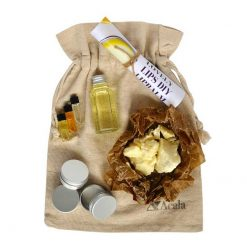 make your own lip balm kit in a bag