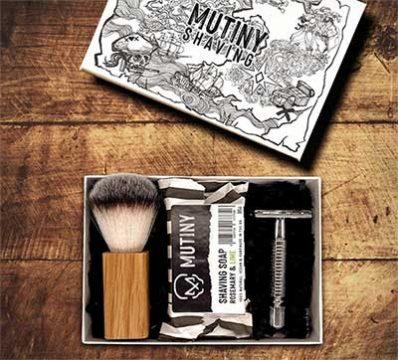 eco friendly gift ideas shaving box