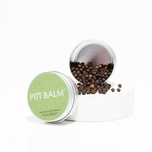 pitt balm natural deodorant with bergamot
