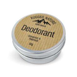 rugged nature natural deodorant