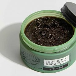upcircle coffee body scrub in glass jar