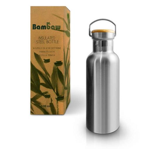 bambaw insulated water bottle 500ml