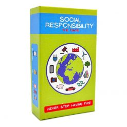 social responsibility card game product shot
