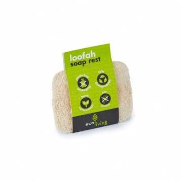 eco living natural loofah soap rest