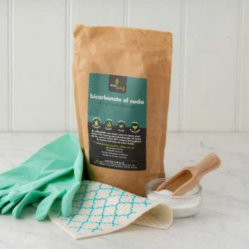 bicarbonate of soda for cleaning in a kitchen