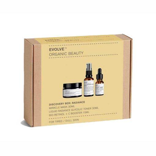 evolve organic beauty radiance discovery box
