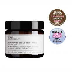 Evolve Multi Peptide 360 Moisture Cream with awards