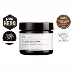 evolve daily renew facial cream with awards