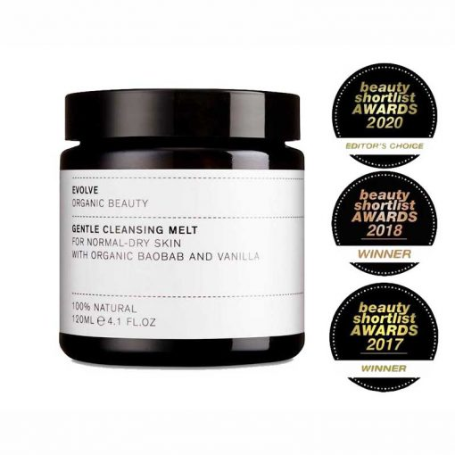 evolve gentle cleansing melt with awards