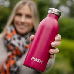 pomegranate water bottle