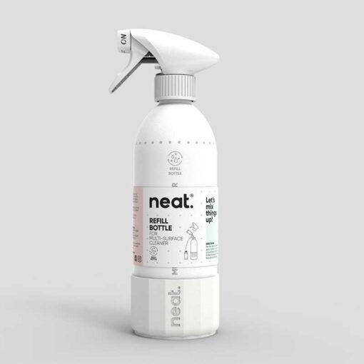 neat aluminium spray bottle