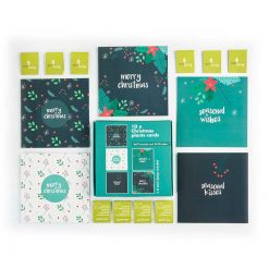 plant berry recycled multipack christmas cards