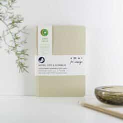 reclaimed kiwi fruit recycled notebook