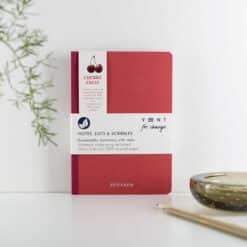 cherry husk reclaimed notebook