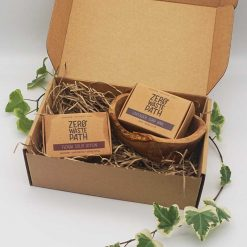 zero waste path body gift set in gift box